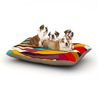 East Urban Home Danny Ivan 'Demy World' Dog Pillow with Fleece Cozy Top Size: Large (50