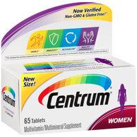 Centrum® Women Multivitamin/Multimineral Supplement Tablet 65 ct Box