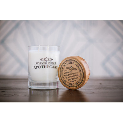 Seventh Avenue Apothecary Hand-poured Ginger Beer and Dark Rum Artisan Soy Candle