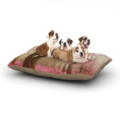East Urban Home Iris Lehnhardt 'Atmospheric Autumn' Dog Pillow with Fleece Cozy Top Size: Large (50
