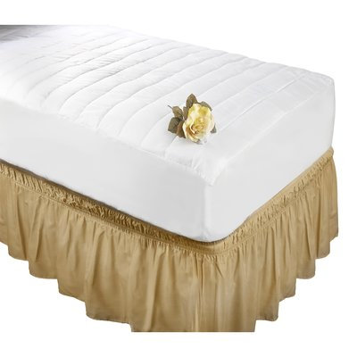 Alwyn Home Antibacterial Polyester Mattress Pad Size: Twin