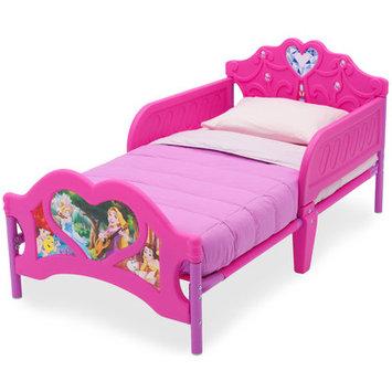 Delta Children Disney Princess 3D Pink Toddler Bed