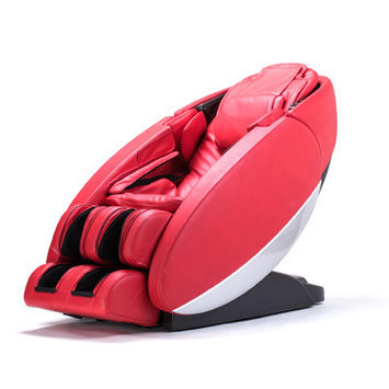 Human Touch NovoXT Zero Gravity Massage Chair Upholstery: Red