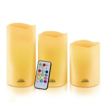 Bloomsbury Market Isaiah 3 Piece Pillar Candle Set