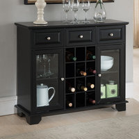Darby Home Co Hannah Wood Storage 12 Bottle Floor Wine Cabinet