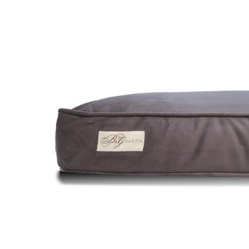 B & Gmartin Microsuede Faux Down Cushion Dog Bed Pillow Size: Extra Large (34
