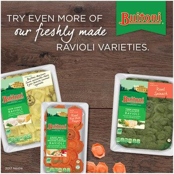 BUITONI Refrigerated Tomato and Mozzarella Ravioli Pasta no GMO 18 oz.