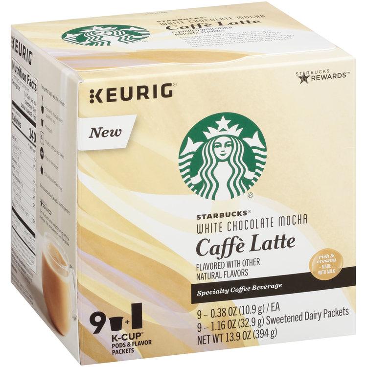 Starbucks® White Chocolate Mocha Caffe Latte Specialty