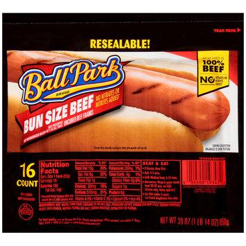 Ball Park® Bun Size Uncured Beef Franks