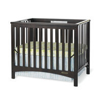 Child Craft London Euro Mini Convertible Crib w/ 3