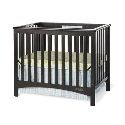 Child Craft London Euro Mini Convertible Crib w/ 3