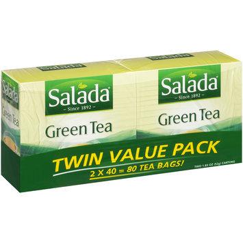 Salada® Pure Green Tea 2-40 ct Boxes