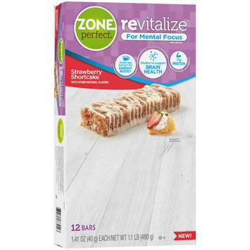 Zone Perfect® Revitalize Strawberry Shortcake Nutrition Bars 12-1.41 oz. Bars