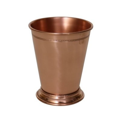 Williston Forge Blondelle Beaded Mint 14 oz. Copper Julep Cup Finish: Shiny Copper