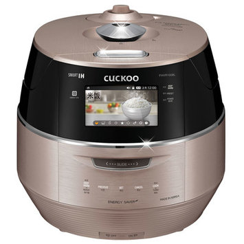 Cuckoo Electronics Cuckoo 10 Cup LCD Display IH Electric Pressure Rice Cooker Size: 6 Cup