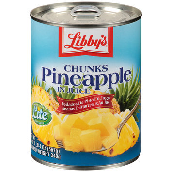 Libby's® Pineapple Chunks in Juice 20 oz. Pull-Top Can