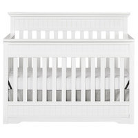 Dream On Me Chesapeake 5-in-1 Convertible Crib Finish: Snow Fall