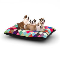 East Urban Home Danny Ivan 'Ubrik' Dog Pillow with Fleece Cozy Top Size: Small (40