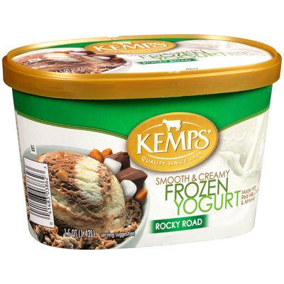 Kemps® Smooth & Creamy Rocky Road Frozen Yogurt 1.5 qt. Tub