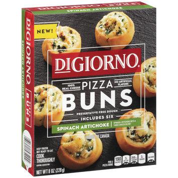 DIGIORNO Spinach Artichoke Pizza Buns 8 oz. Box