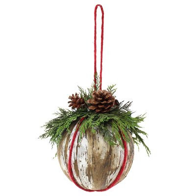 The Holiday Aisle Birch Kissing Ball with Jute