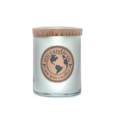 Ecocandleco Lemongrass Sage Soy Jar Candle Size: 5.5