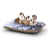 East Urban Home Iris Lehnhardt 'A Flower' Petals Dog Pillow with Fleece Cozy Top Size: Small (40