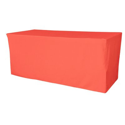 Red Barrel Studio Oppenheim Polyester Poplin Rectangular Fitted Tablecloth