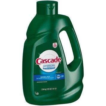 Cascade® Advanced Power® Fresh Scent Dishwasher Detergent 125 oz. Jug