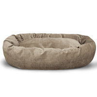 Majestic Pet Products, Inc. Suede Bagel Bolster Dog Bed Size: Small (24