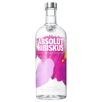 Absolut Vodka Sweden Hibiskus 1L Bottle