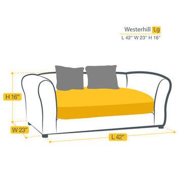 Keet Westerhill Dog Sofa Size: Large (40