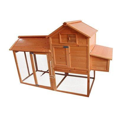 Lovupet Deluxe Wooden Chicken Coop