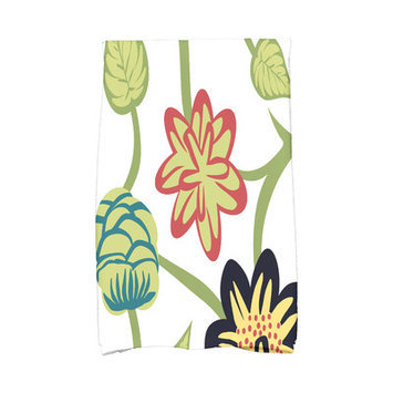 Red Barrel Studio Tropical Hand Towel Color: Navy Blue