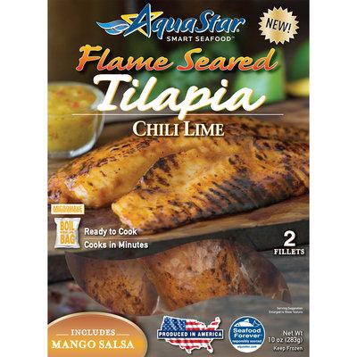 Aqua Star® Flame Seared Chili Lime Tilapia 10 oz. Box