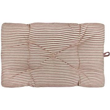 Park B. Smith, Ltd. Metro Farmhouse Ticking Stripe Crate Futon Mat Size: 19
