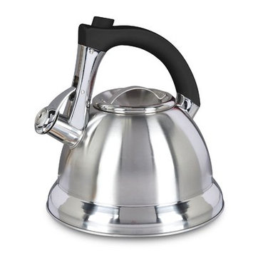 Mr. Coffee Stainless Steel 2.4-quart Whistling Tea Kettle