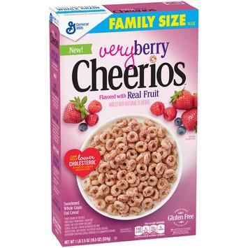 Very Berry Cheerios™ Cereal 18.5 oz. Box