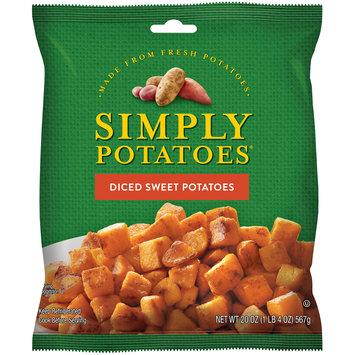 Simply Potatoes® Diced Sweet Potatoes 20 oz. Bag