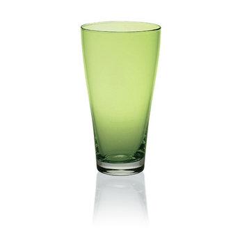 Majestic Crystal Nadia 16 Oz. Juice Glass Color: Green