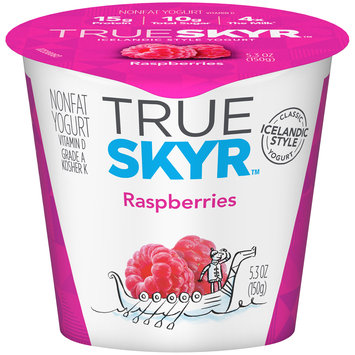 Dannon of the World™ True Skyr™ Raspberries Yogurt 5.3 oz. Single Serve