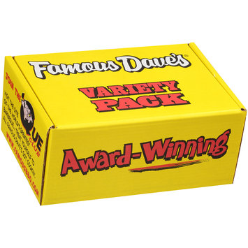 Famous Dave's® Hot Variety Pack 7 pc Box