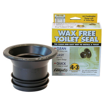 Fernco 4in x 3in Toilet Seal Wax Free (FTS-4CF)