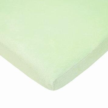 Viv + Rae Bonilla Console Table Chamois / Chenille Bassinet Sheet Color: Celery