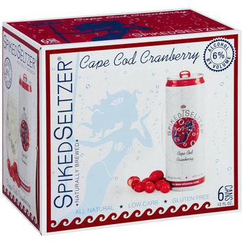 SpikedSeltzer® Cape Cod Cranberry Beer 6-12 fl. oz. Cans