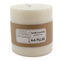 The Holiday Aisle Unscented Pillar Candle Size: 4