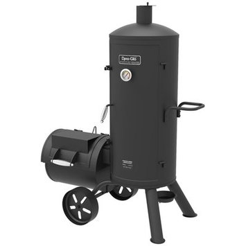 Dyna-glo Signature Series Vertical Char Offset Charcoal Smoker and Grill
