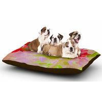 East Urban Home Ebi Emporium 'Deconstructing the Garden 2' Dog Pillow with Fleece Cozy Top