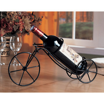 Wildon Home Tri City 1 Bottle Tabletop Wine Rack