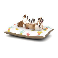 East Urban Home Alik Arzoumanian 'Tropical' Dog Pillow with Fleece Cozy Top Size: Small (40